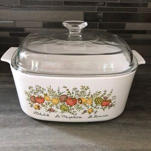 Vintage Corning Ware Spice of Life Casserole 5L